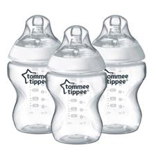 Tommee Tippee Closer to Nature Bottle 260ml 3Pk