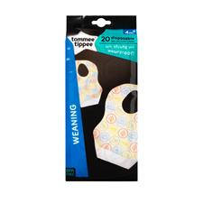 Tommee Tippee Disposable Bibs 20Pk
