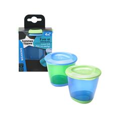 Tommee Tippee Explora Pop Up Weaning Pot 2Pk