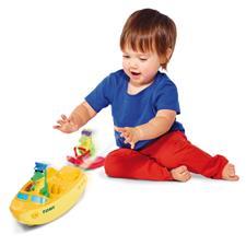Tomy Bath Toy Ski Boat Croc