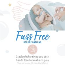 Wholesale of Angelcare Soft-Touch Bath Support Aqua