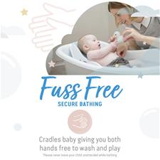 Wholesale of Angelcare Soft-Touch Mini Baby Bath Support Aqua