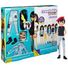 Wholesale of Creatable World Deluxe Character Doll with Black Hair