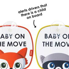 Wholesale of Diono Baby on the Move Signs 2Pk