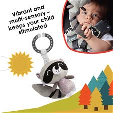 Wholesale of Diono Harness Soft Wraps & Linkie Toy Raccoon