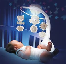 Wholesale of Infantino 3 in 1 Projector Musical Mobile Grey