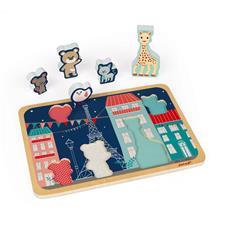 Wholesale of Janod Sophie La Girafe Chunky Puzzle 5pc
