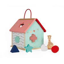 Wholesale of Janod Sophie La Girafe Shape Sorting House