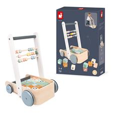 Wholesale of Janod Sweet Cocoon Cart with ABC blocks