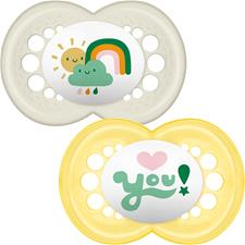 Wholesale of MAM Style (I Love) Soother 6m+ 2Pk
