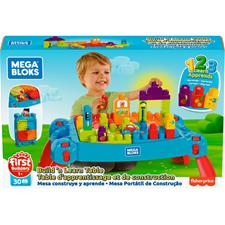Wholesale of Mega Bloks Build & Learn Table Blue