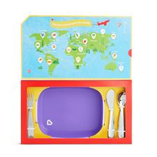 Wholesale of Munchkin Food Adventure Big Kid Dining Set Purple
