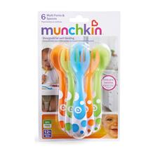 Wholesale of Munchkin Multi Forks and Spoons 6Pk