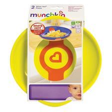 Wholesale of Munchkin White Hot Plates 2Pk