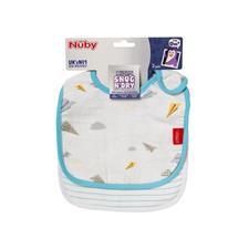 Wholesale of Nuby Muslin Snug n Dry Bib 2Pk