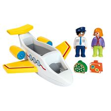 Wholesale of Playmobil 1.2.3 Airplane with Passenger