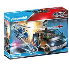 Wholesale of Playmobil City Action Police Helicopter Pursuit with Runaway Van