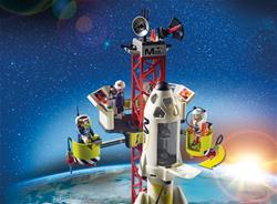 Wholesale of Playmobil Space Mission Rocket with Launch Site with Lights and Sound