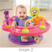 Wholesale of Summer Infant 3-Stage Super Seat™ Forest Friends Pink