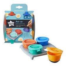 Wholesale of Tommee Tippee 4 Pop Up Freezer Pots & Tray