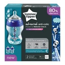 Wholesale of Tommee Tippee Advanced Anti-Colic Bottles Decorated 260ml 2Pk