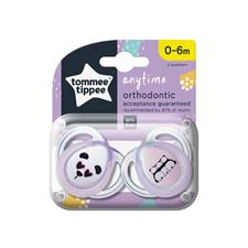 Wholesale of Tommee Tippee Closer to Nature Anytime Soother 0-6m 2Pk