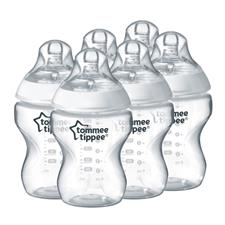 Wholesale of Tommee Tippee Closer to Nature Bottle 260ml 6Pk
