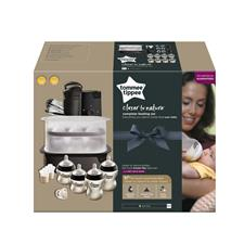 Wholesale of Tommee Tippee Closer to Nature Complete Feeding Set Black