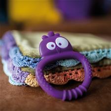 Wholesale of Tommee Tippee Kalani Sensory Mini Teether - Purple