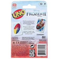 Wholesale of Uno Card Game Licensed Frozen 2