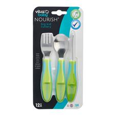 Wholesale of Vital Baby NOURISH Big Kid Cutlery Pop 3Pk