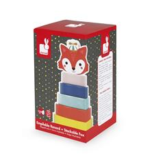 Baby products distributor of Janod Baby Forest Fox Stacker