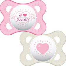 Baby products distributor of MAM Style (I Love) Soother 0m+ 2Pk