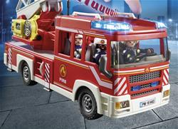 Baby products distributor of Playmobil Fire Engine with Ladder and Lights and Sounds