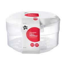 Baby products distributor of Tommee Tippee Essentials Microwave & Cold Water Steriliser
