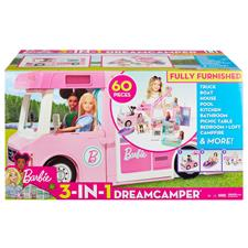 Baby products supplier of Barbie 3 in 1 Dream Camper