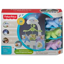 Baby products supplier of Fisher-Price Butterfly 3 in 1 Projector Mobile
