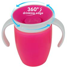 Baby products wholesaler of Munchkin Miracle 360 Trainer Cup 207ml