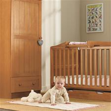 Mothercare Darlington Cot Bed Antique