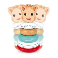 Distributor of Janod Sophie La Girafe Stackable Roly-Poly