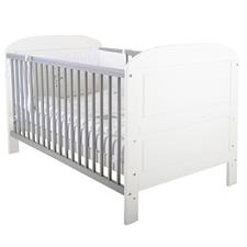 East Coast Angelina Cot Bed - White