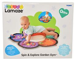 Lamaze Spin & Explore Garden Gym