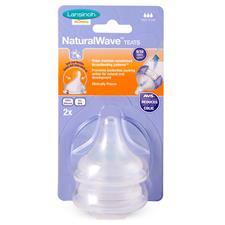 Lansinoh Natural Wave Teat Fast Flow 2Pk