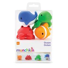 Munchkin Bath Squirters Ocean Buddies 4Pk