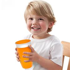 Supplier of Munchkin Miracle 360 Sippy Cup Orange 296ml