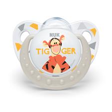 NUK Winnie The Pooh Silicone Soother 0-6m 2Pk