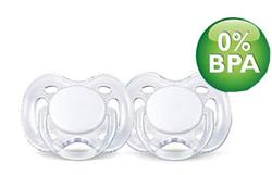 Philips Avent Freeflow Soothers 0-6m 2Pk