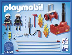 Baby products distributor of Playmobil Firefighters with Water Pump