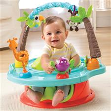 Baby products distributor of Summer Infant 3-Stage Super Seat™  Island Giggles Wild Safari