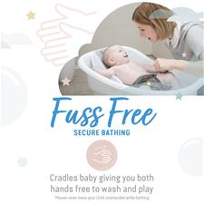 Supplier of Angelcare Soft-Touch Mini Baby Bath Support Grey